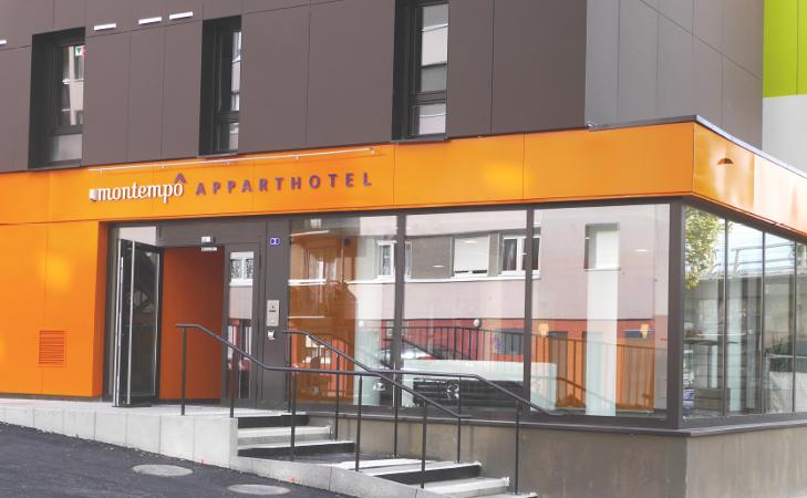 Montempo aparthotel strasbourg station for Residence appart hotel lyon